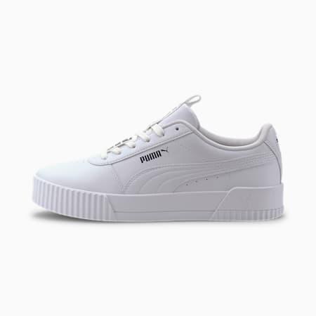 Zapatos deportivos Carina Bold para mujer, Puma White-Puma White, pequeño