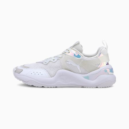 Rise Glow Women's Trainers, Puma White, small