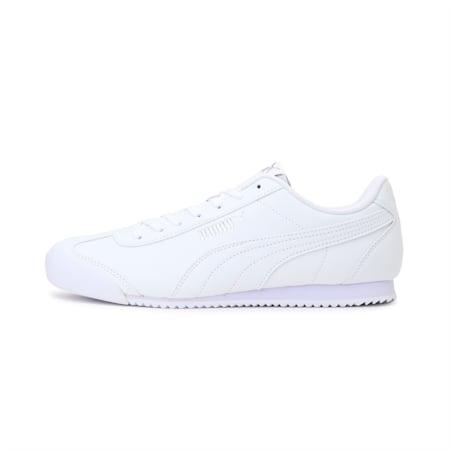 PUMA Turino FSL SoftFoam+ Unisex Shoes, Puma White-P. White-P. White, small-IND