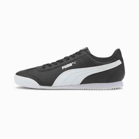 PUMA Turino FSL SoftFoam+ Unisex Shoes, Puma Black-Puma White, small-IND
