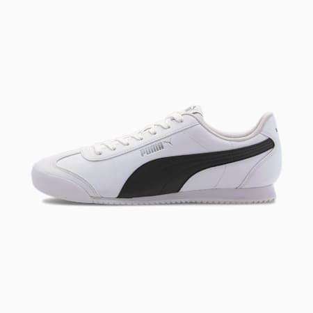 Zapatos deportivos Turino SL para hombre, Puma White-Puma Black-Puma Silver, pequeño