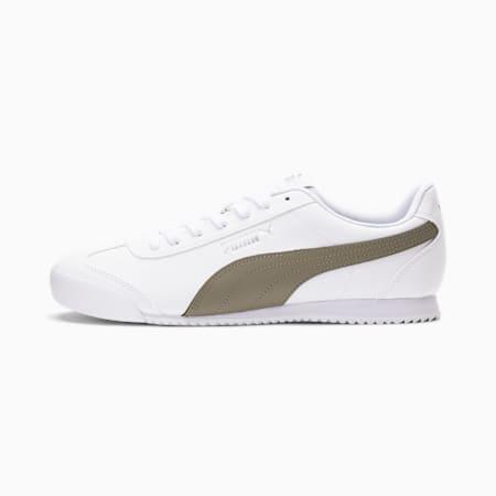 Zapatos deportivos Turino SL para hombre, Puma White-Vetiver, pequeño