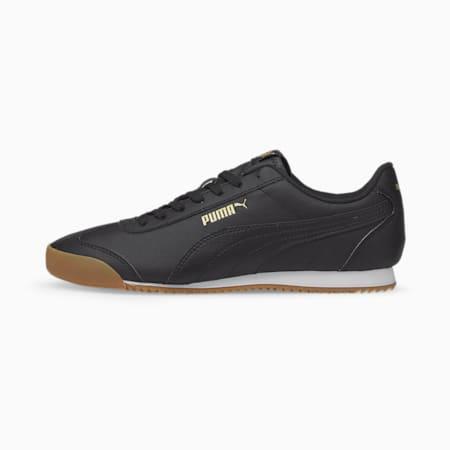 Zapatos deportivos Turino SL para hombre, Puma Black-Puma Black-Gum, pequeño
