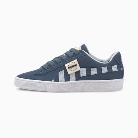 Time 4 Change Basket Canvas Girls' Sneakers JR, Dark Denim-Plein Air, small