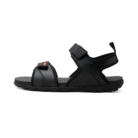 Crystal IDP Women's Sandals, Black-JaffaOrange-DarkShadow, small-IND