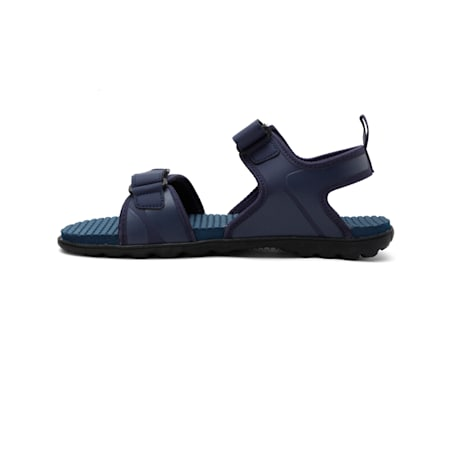 Crystal IDP  Sandals, Peacoat-Black-Puma White, small-IND