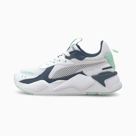 RS-X Joy Sneakers JR, Puma White-Dark Denim, small