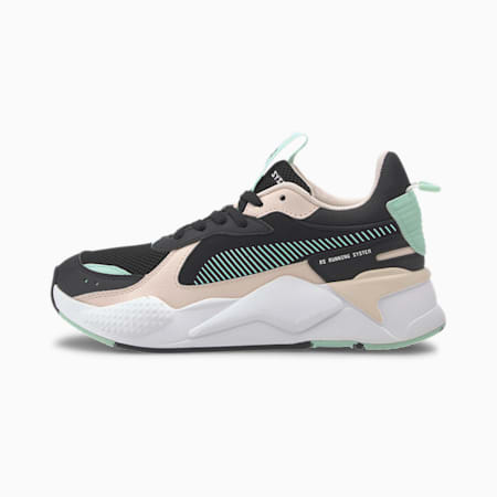 RS-X Joy Youth Trainers, Puma Black-Rosewater, small