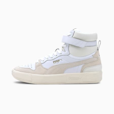 Sky LX Mid Lux Men's Sneakers, Puma White-Whisper White, small