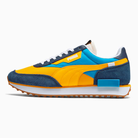 Future Rider OG Men's Sneakers, Peacoat-Spectra Yellow, small