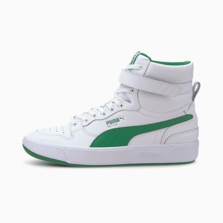 Buty sportowe Sky LX Mid, Puma White-Amazon Green, small