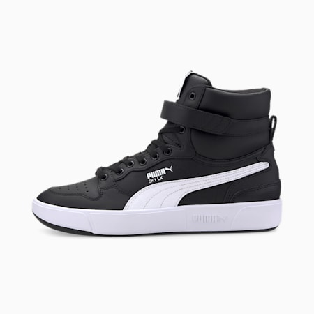 Sky LX Mid Athletic Men's Sneakers, Puma Black-Puma White, small