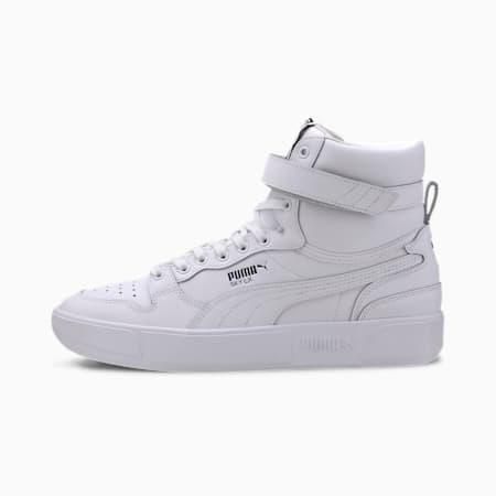 Sky LX Mid Athletic Trainers, Puma White-Puma Black, small