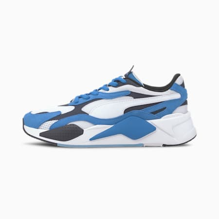 RS-X³ Super Men's Sneakers, Palace Blue-Puma White, small-SEA