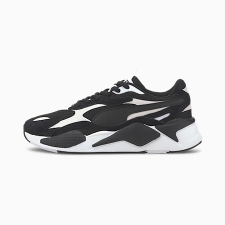 RS-X³ Super Trainers, Puma Black-Puma White, small