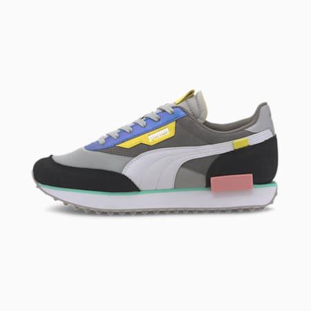 Zapatos deportivos Future Rider Royale para mujer, Gray Violet-Puma Black, pequeño