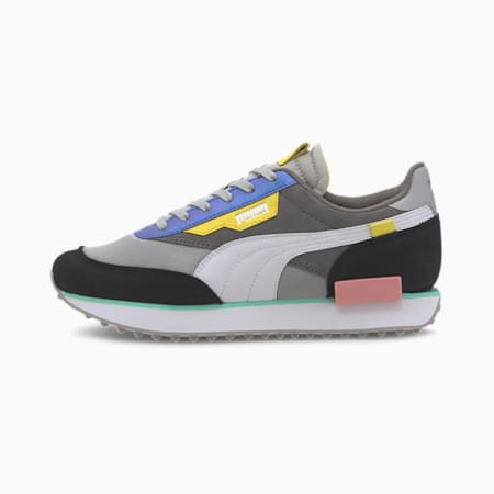 Rider Royale Women's Trainers, Gray Violet-Puma Black, small-SEA