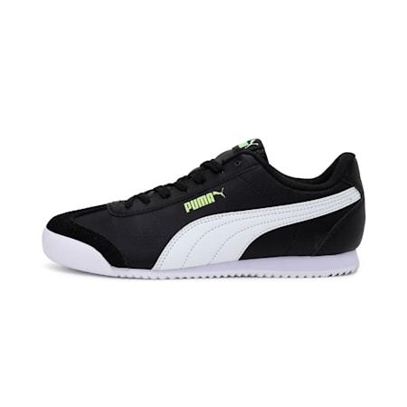 Turino SoftFoam+ Kid's Sneakers, Black-White-Sharp Green, small-IND