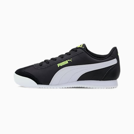 Turino Sneakers JR, Black-White-Sharp Green, small