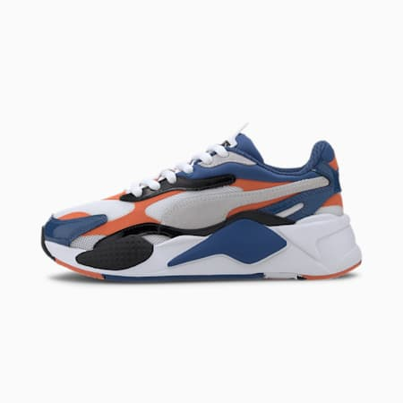 RS-X Miracle Youth Trainers, Puma White-Firecracker, small
