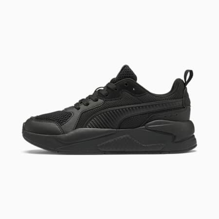 X-Ray Youth Trainers, Puma Black-Dark Shadow, small
