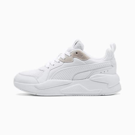X-Ray Youth Sneaker, Puma White-Gray Violet, small
