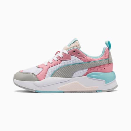 X-Ray Youth Sneaker, Wht-H Rise-Peony-Gulf Strm-R, small