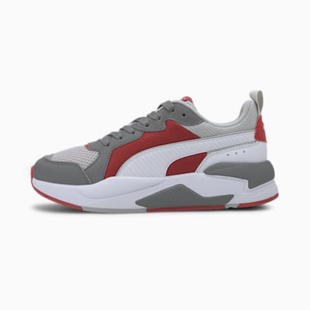 X-Ray Kid's Shoes, Gray Violet-Puma White-Ultra Gray-High Risk Red, small-IND