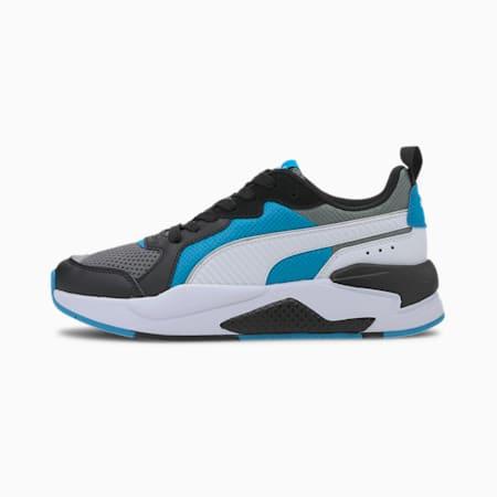 Młodzieżowe buty sportowe X-Ray, Gray-White-Blk-Dresden Blue, small
