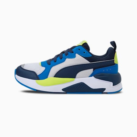 X-Ray Kid's Shoes, Nimbus Cloud-Spellbound-Future Blue-Nrgy Yellow-Puma White, small-IND