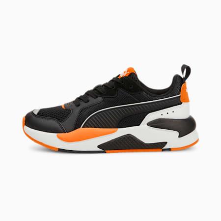 Zapatos deportivos X-RAY JR, Puma Black-Puma Black-Puma White-Vibrant Orange-Puma Silver, pequeño