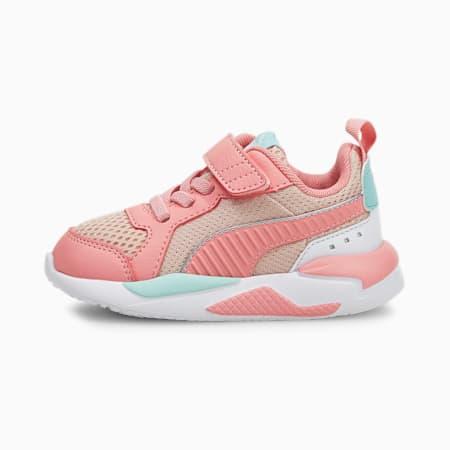 Zapatos X-RAY para bebés, Lotus-Peony-Eggshell Blue-Puma White-Puma Silver, pequeño