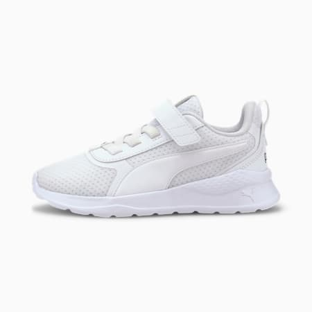 Anzarun Little Kids' Shoes, Puma White-Puma Black, small