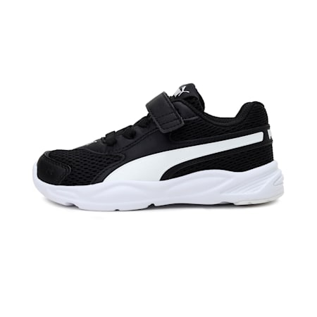 90s Runner Mesh AC IMEVA Kids' Sneakers, Puma Black-Puma White, small-IND