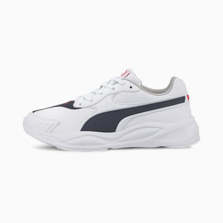 '90s Runner SL Youth Trainers, Whi-Peacoat-Red-Gray Violet, small-SEA