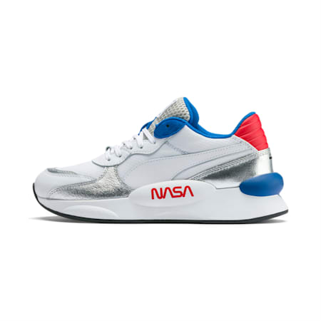RS 9.8 Space Explorer Youth Trainers, Puma White-Puma Silver, small-SEA