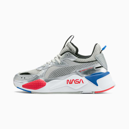 RS-X Space Agency Sneakers JR, Puma Silver-Gray Violet, small