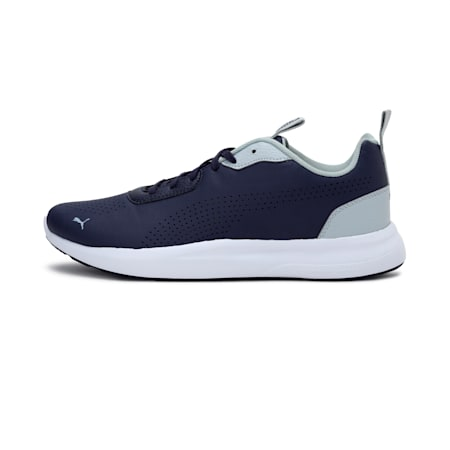 Puma Perforated Low Men's  IDP Shoes, Peacoat-High Rise, small-IND