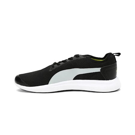 Blast IDP Running Shoes, Black-High Rise-Limepunch, small-IND