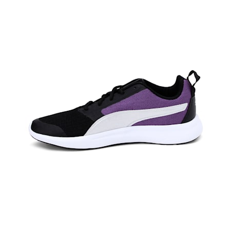 Breakout IDP Women's Sneakers, Black-Prism Violet-Silver, small-IND