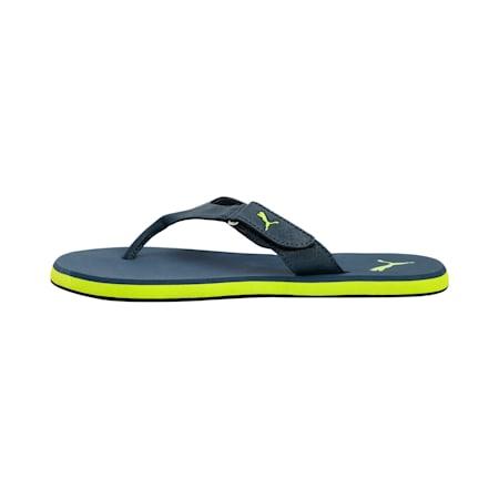 The Breeze 2.0 IDP Sandals, Dark Denim-Limepunch, small-IND
