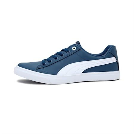 Cape IDP Unisex Sneakers, Dark Denim-Puma White, small-IND