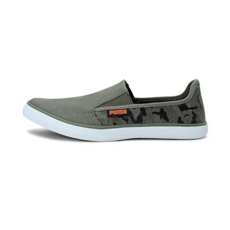 Bakavu IDP Slip-on Unisex Shoes, BurntOlive-Black-VibrantOran, small-IND