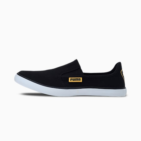 Bakavu IDP Slip-on Unisex Shoes, Puma Black-Spectra Yellow, small-IND