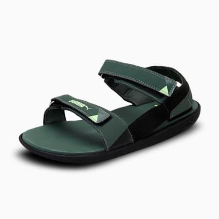 Pebble MU IDP Sandals, Thyme-Pureed Pumpkin, small-IND