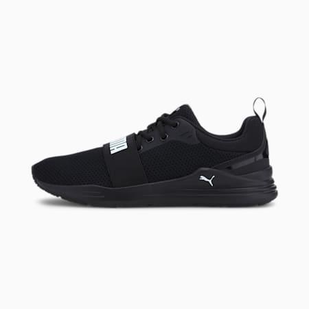 PUMA Wired Run IMEVA Shoes, Puma Black-Puma White, small-IND