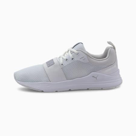 Wired sportschoenen, Puma White-Gray Violet, small