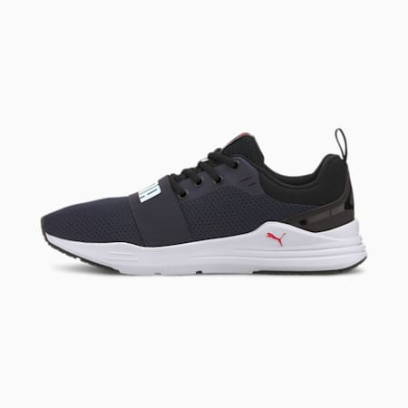 Wired Trainers, Peacoat-Puma White, small