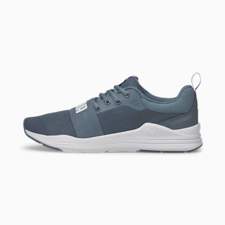PUMA Wired Run IMEVA Shoes, China Blue-Puma White, small-IND