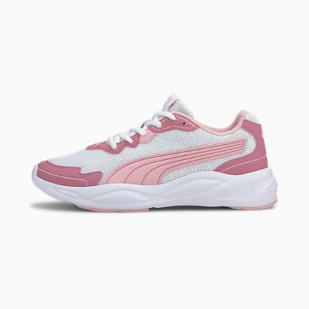 Basket '90s Runner Nu Wave, White-Peachskin-Foxglove, small